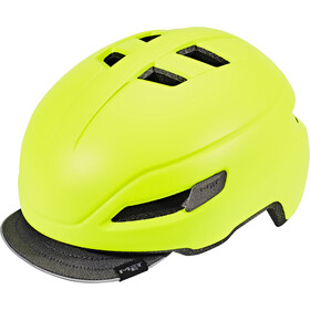 MET Corso Casco, matt safety yellow